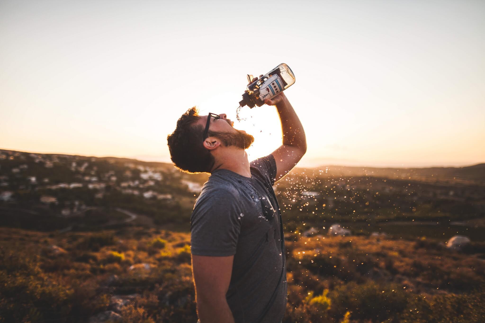 熱中症予防、とにかく安いスポーツ飲料&500mlクリアボトル購入、ベストマッチで毎日使えるぞ!