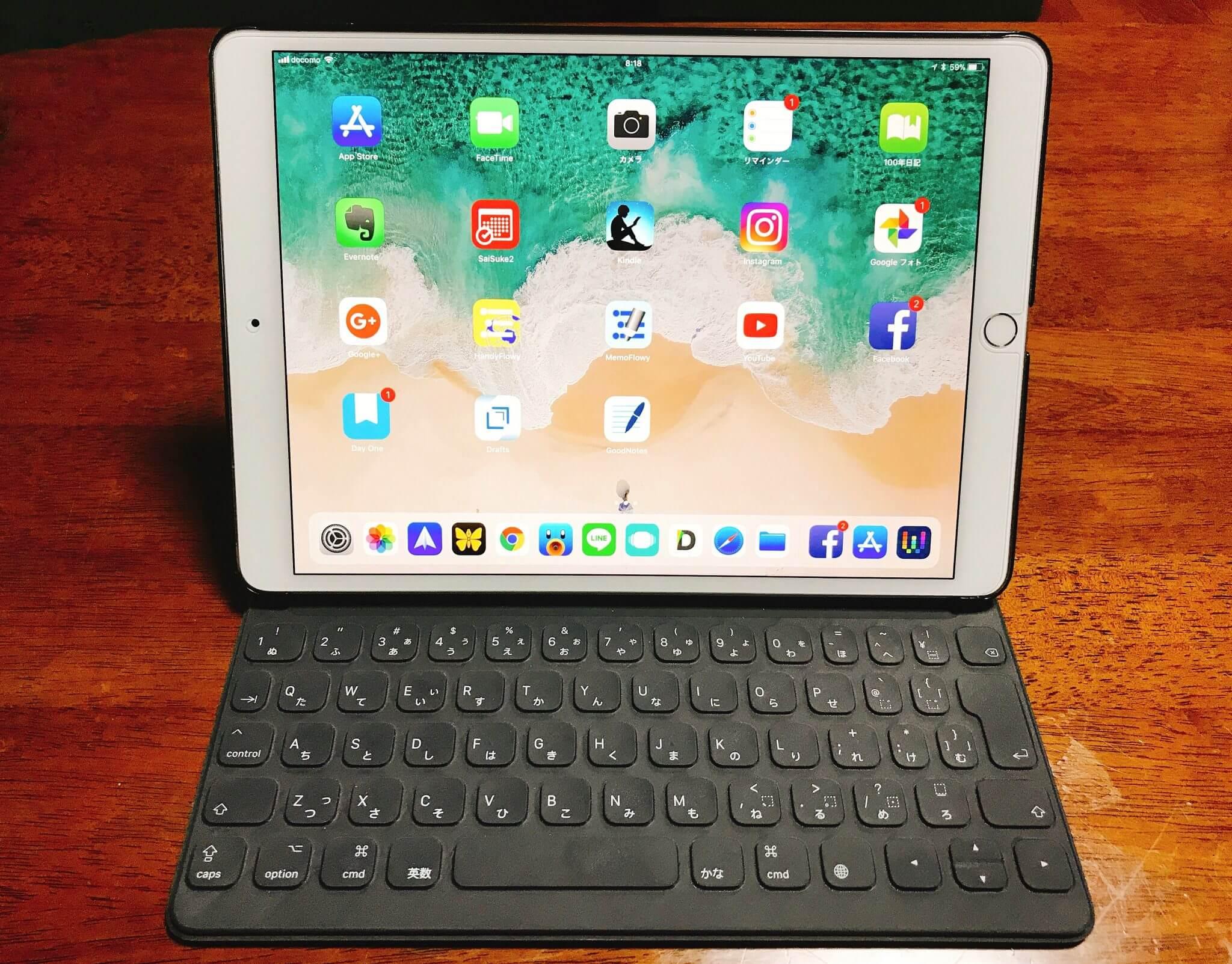 「10.5インチiPadPro・SmartKeybord」Ulyssesエディッタを1ヵ月使ってレビュー