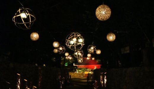 【読谷村】むら咲むら・夏のよみたん夜あかり「琉球夜祭」に行ってきました
